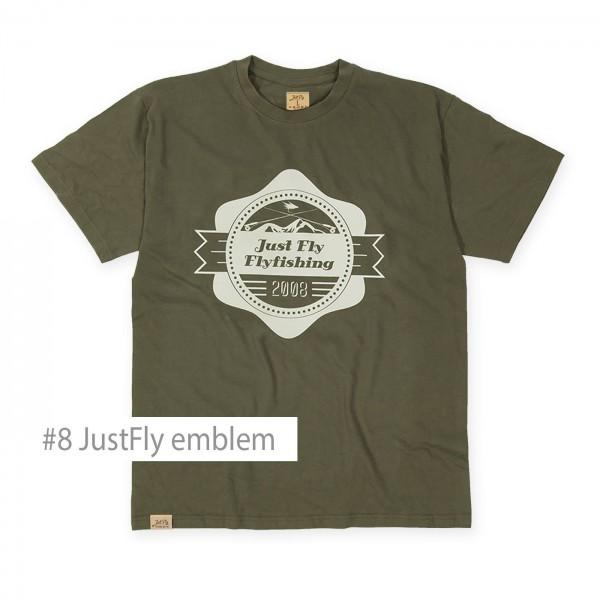 Flyfishing Shirt JustFly Emblem