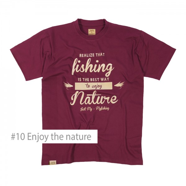 Flyfishing Shirt Enjoy the nature